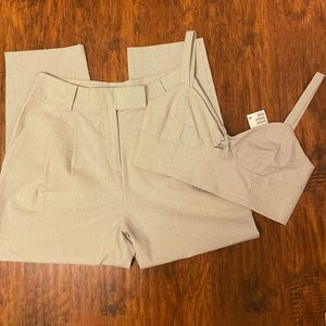 H&M Co-Ords Set | Trousers & Crop Top